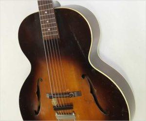 SOLD!!! Vega C26 Archtop Guitar Sunburst, 1945