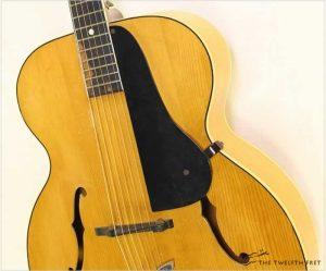 Vega C56 Archtop Guitar Natural, 19 - The Twelfth Fret