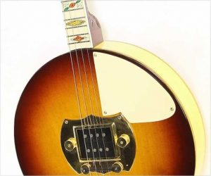 Vega Deluxe Electric Tenor Banjo Sunburst Restored, 1937