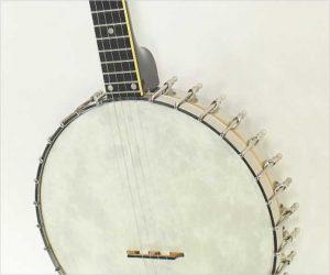 Vega Professional Tubaphone Openback Banjo, 1920s Pot 1960s Neck