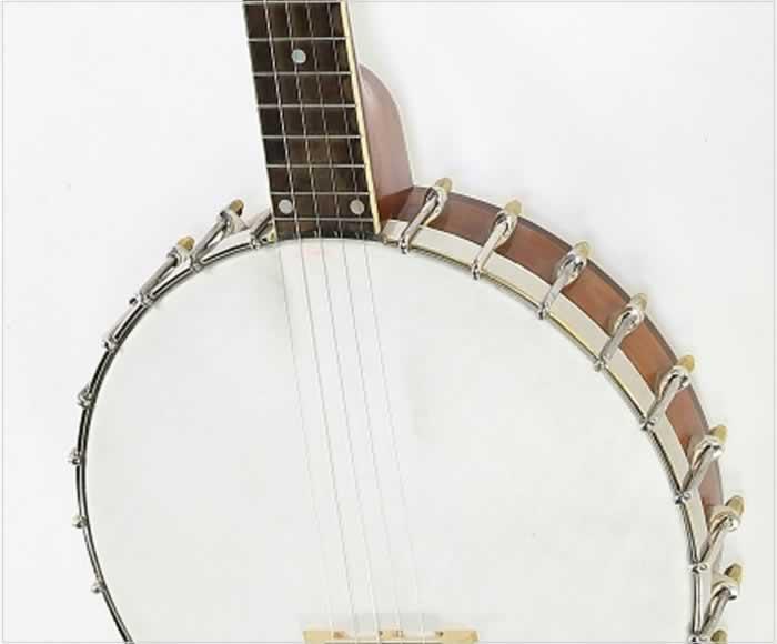 Vega Senator 5-String Open Back Banjo, 1925   www 12fret com