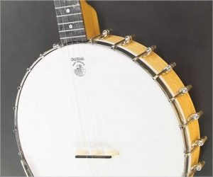 Vega White Oak Open Back Banjo 12 inch by Deering