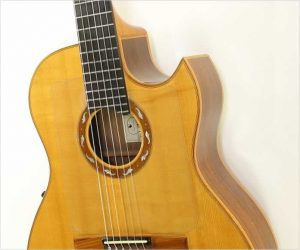 ❌SOLD❌ Volkert Classical Cutaway Crossover Guitar, 1994
