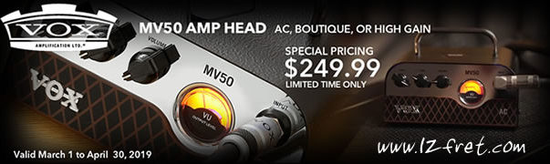 Vox MV50 AMP Head Special - The Twelfth Fret