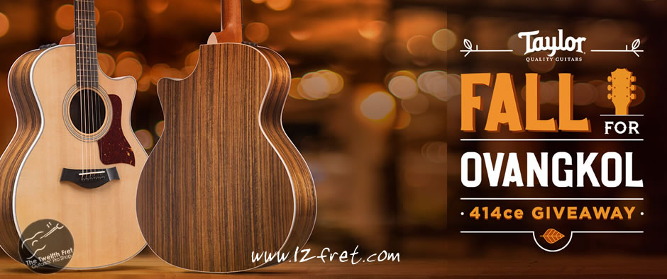 WIN A New Taylor 414ce Guitar - The Twelfth Fret