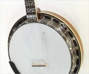 ❌SOLD❌ Warren Yates Ron Stewart Signature Banjo, 2011