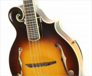 Weber Big Sky F Style Mandolin with Tone-Gard, Sunburst 2000 - The Twelfth Fret