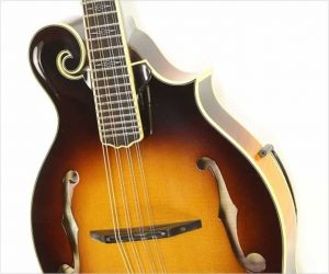 ❌SOLD❌ Weber Big Sky F Style Mandolin with Tone-Gard, Sunburst 2000