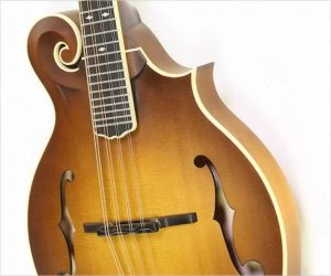 Weber Bitterroot F14-F Mandolin Faded Amber Burst, 2020