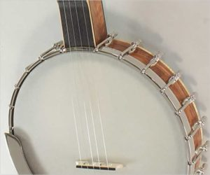 ❌SOLD❌ Wildwood Exotic Wood Series Frailing Banjo