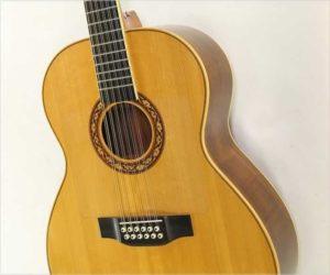 SOLD!!! William Laskin 12-String Guitar, 1976