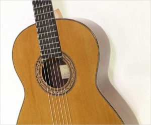 ⚌Reduced‼  William Laskin Cedar Top Classical Guitar, 1987