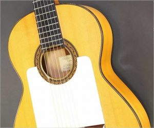 ❌SOLD❌William Laskin Flamenco Blanca Guitar, 1987