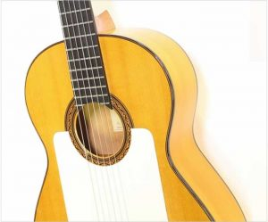 William Laskin Flamenco Blanca Guitar, 1987 - The Twelfth Fret