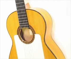 William Laskin Flamenco Blanca Guitar, 1987