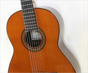 Yamaha GC30A Grand Concert Brazilian Classical, 1982 - The Twelfth Fret