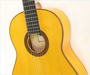 Yamaha Grand Concert FC10 Flamenco Blanca Guitar, 1983