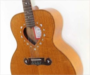 Zemaitis Heart 12 String Superior Plus Acoustic Guitar Mahogany, 1986 - The Twelfth Fret
