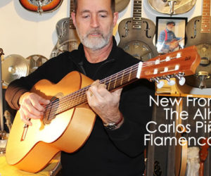 From Spain The Alhambra Carlos Piñana 2F Flamenco Guitar