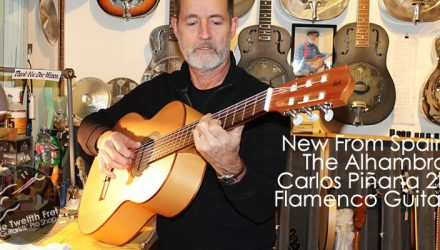 Alhambra Carlos Piñana 2F Flamenco Guitar - The Twelfth Fret