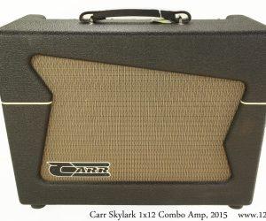 ❌SOLD❌   Carr Skylark 1x12 Combo Amp, 2015