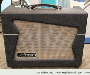 ❌SOLD❌ Carr Skylark 1x12 Combo Amplifier Black, 2014