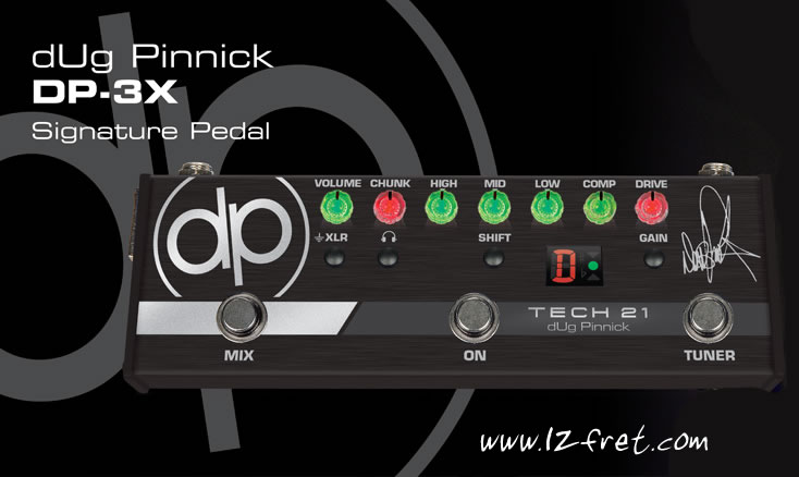 DP-3X dUg Pinnick Bass Signature Pedal - The Twelfth Fret