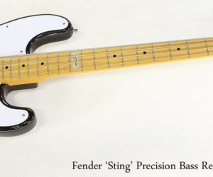 Fender 'Sting' Precision Bass Reissue Sunburst, 2010