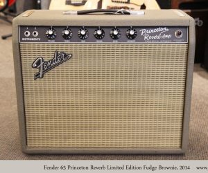 ❌SOLD❌ Fender 65 Princeton Reverb Limited Edition Fudge Brownie, 2014