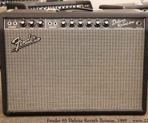 ❌SOLD❌  Fender 65 Deluxe Reverb Reissue, 1999