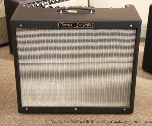 ❌SOLD❌ Fender Hot Rod DeVille III 2x12 60w Combo Amp, 2006