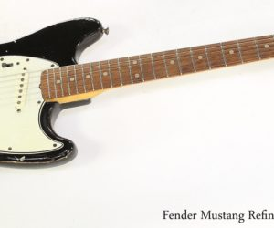 Fender Mustang Refinished Black, 1965
