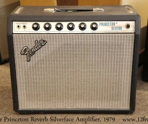 ❌SOLD❌   Fender Princeton Reverb Silverface Amplifier, 1979