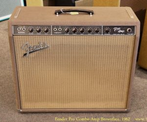 ❌SOLD❌Fender Pro Combo Amp Brownface, 1962