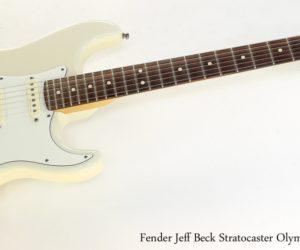 Fender Jeff Beck Stratocaster Olympic White, 2006