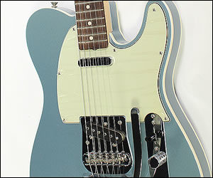SOLD!!! Fender Custom Shop NOS 1960 Telecaster Custom with Bigsby Ice Blue Metallic - 2008