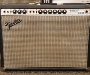 ‼️Reduced‼️ Fender Vibrolux Reverb Combo Amp Silverface, 1976