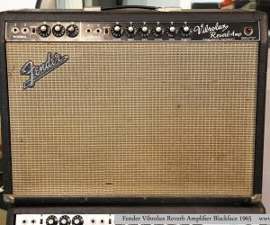 ❌SOLD❌   Fender Vibrolux Reverb Amplifier Blackface 1965