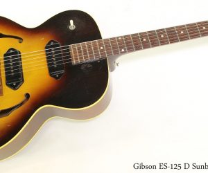 Gibson ES125 D Sunburst, 1957
