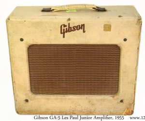 Gibson GA5 Les Paul Junior Amplifier, 1955