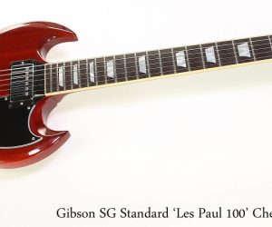 ❌SOLD❌ Gibson SG Standard 'Les Paul 100' Cherry Red, 2015