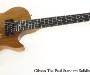 Gibson The Paul Standard Solidbody Walnut, 1979