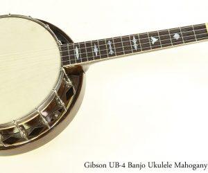 Gibson UB4 Banjo Ukulele Mahogany, 1932