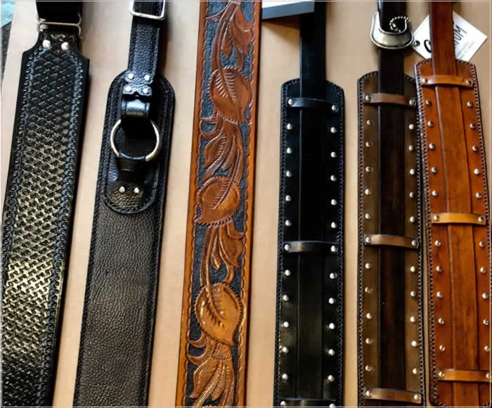 Gold Corium Straps - The Twelfth Fret