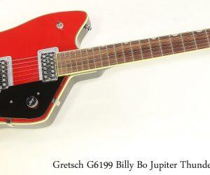Gretsch G6199 Billy Bo Jupiter Thunderbird Red, 2006