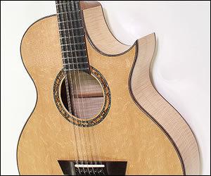 G. W. Barry Maple 12 String Guitar - 2017