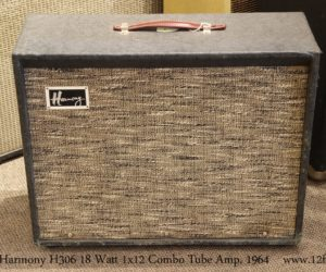 ❌ SOLD ❌  Harmony H306 18 Watt 1x12 Combo Tube Amp, 1964