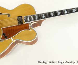 Heritage Golden Eagle Archtop Electric, 2004