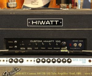 HIWATT Custom 100 DR103 Tube Amplifier Head, 1981