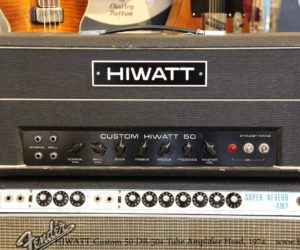 HIWATT Custom 50 DR-504 Tube Amplifier Head, 1974